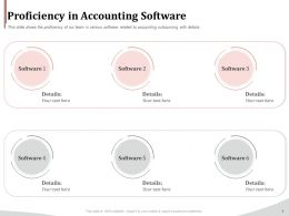 Proficiency In Accounting Software Ppt Powerpoint Introduction
