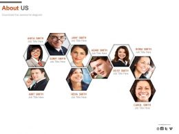 Profile Networking For Company About Us Powerpoint Slides