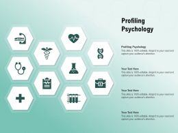 Profiling Psychology Ppt Powerpoint Presentation Layouts Format
