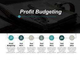 Profit Budgeting Ppt Powerpoint Presentation Infographic Template Designs Cpb