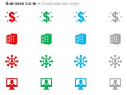 Profit Building Business Woman User Ppt Icons Graphics