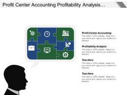 Profit Center Accounting Profitability Analysis Technology Commercialization Activities