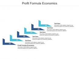 Profit Formula Economics Ppt Powerpoint Presentation Ideas Inspiration Cpb