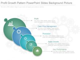 Profit Growth Pattern Powerpoint Slides Background Picture