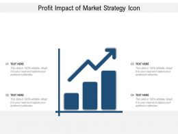 Profit Impact Of Market Strategy Icon