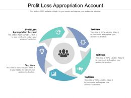 Profit Loss Appropriation Account Ppt Powerpoint Presentation Icon Cpb