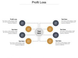 Profit Loss Ppt Powerpoint Presentation Icon Demonstration Cpb