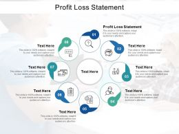 Profit Loss Statement Ppt Powerpoint Presentation Pictures Graphics Cpb
