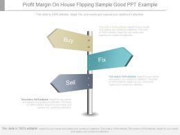 Profit Margin On House Flipping Sample Good Ppt Example