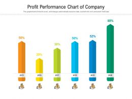 Profit Performance Chart Of Company