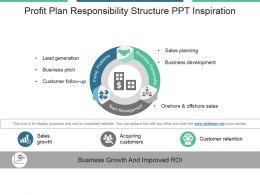 Profit Plan Responsibility Structure Ppt Inspiration