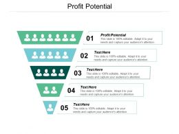 Profit Potential Ppt Powerpoint Presentation Ideas Summary Cpb
