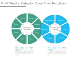 Profit Seeking Behavior Powerpoint Templates