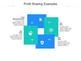 Profit Sharing Examples Ppt Powerpoint Presentation Icon Examples Cpb