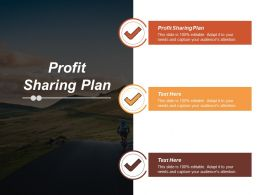 Profit Sharing Plan Ppt Powerpoint Presentation Icon Guide Cpb