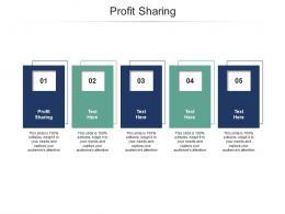 Profit Sharing Ppt Powerpoint Presentation Model Maker Cpb