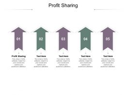 Profit Sharing Ppt Powerpoint Presentation Pictures Show Cpb