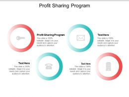 Profit Sharing Program Ppt Powerpoint Presentation Infographics Pictures Cpb