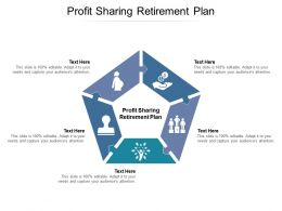 Profit Sharing Retirement Plan Ppt Powerpoint Presentation Layouts Layout Cpb