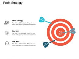 Profit Strategy Ppt Powerpoint Presentation Diagrams Cpb