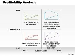 Profitability Analysis Powerpoint Presentation Slide Template