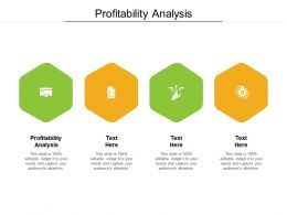Profitability Analysis Ppt Powerpoint Presentation Inspiration Picture Cpb