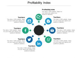 Profitability Index Ppt Powerpoint Presentation Layouts Slide Download Cpb
