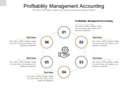 Profitability Management Accounting Ppt Powerpoint Presentation Summary Visual Aids Cpb