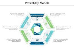 Profitability Models Ppt Powerpoint Presentation Infographics Skills Cpb