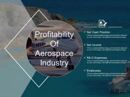 Profitability Of Aerospace Industry Ppt Samples