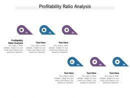 Profitability Ratio Analysis Ppt Powerpoint Presentation Styles Slides Cpb