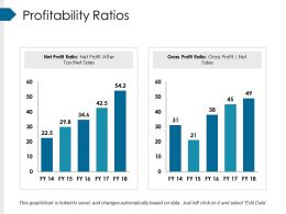 Profitability Ratios Powerpoint Slide Deck