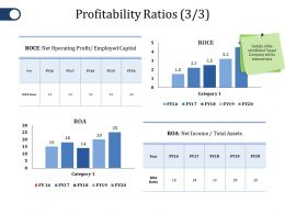 Profitability Ratios Ppt File Elements