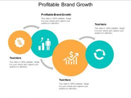 Profitable Brand Growth Ppt Powerpoint Presentation Infographics Show Cpb