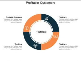 Profitable Customers Ppt Powerpoint Presentation Show Introduction Cpb