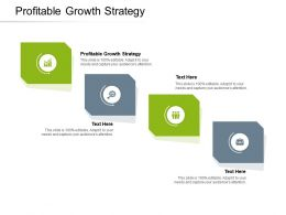 Profitable Growth Strategy Ppt Powerpoint Presentation Slides Structure Cpb