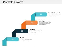 Profitable Keyword Ppt Powerpoint Presentation Gallery Templates Cpb
