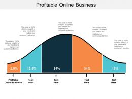 Profitable Online Business Ppt Powerpoint Presentation Infographic Template Model Cpb