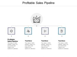 Profitable Sales Pipeline Ppt Powerpoint Presentation Pictures Microsoft Cpb