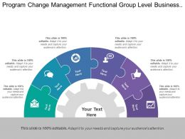 Program Change Management Functional Group Level Business Structure