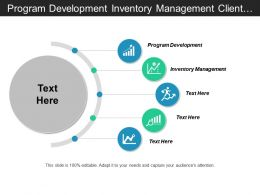 Program Development Inventory Management Client Acquisition Business Compliance Cpb