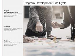 Program Development Life Cycle Ppt Powerpoint Presentation Microsoft Cpb