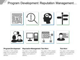 Program Development Reputation Management Risk Management Seo Strategy