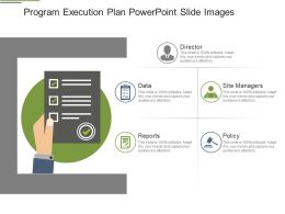 Program Execution Plan Powerpoint Slide Images