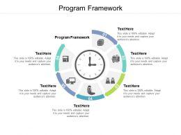 Program Framework Ppt Powerpoint Presentation Layouts Graphics Template Cpb
