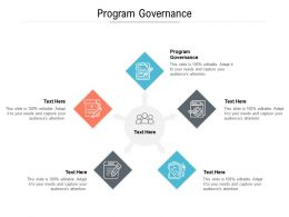 Program Governance Ppt Powerpoint Presentation Gallery Objects Cpb