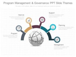 Program Management And Governance Ppt Slide Themes