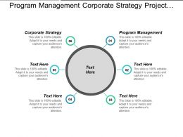 Program Management Corporate Strategy Project Management Network Analysis Cpb