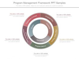 Program Management Framework Ppt Samples
