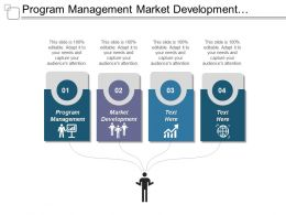 Program Management Market Development Service Management Cross Channel Marketing Cpb